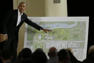Le 44e président des États-Unis présentait en mai les plans de son Presidential Center qui verra le jour à Chicago en 2021.