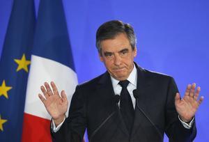 François Fillon reconnaît sa défaite et appelle à voter pour Emmanuel Macron