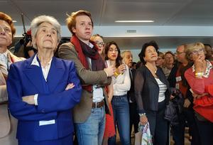 Au QG de Fillon, les militants ne décolèrent pas contre les médias