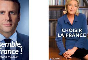 Macron-Le Pen : les affiches du second tour décryptées