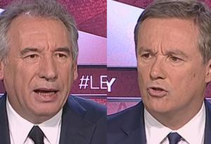 Pour Bayrou, Dupont-Aignan fait «n'importe quoi»