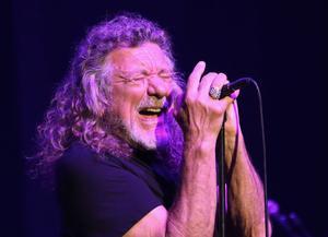 Robert Plant en concert à Pleyel.