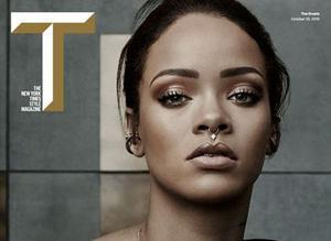 Rihanna en Une du <i>New York Times Magazine.</i>