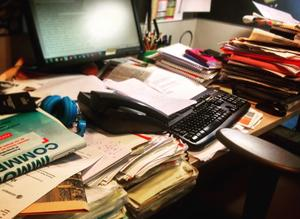 Le bordel du bureau en période de test table de bureau u coach perso