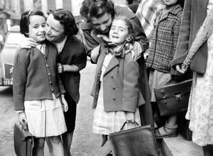 Rentrée des classes en 1956.