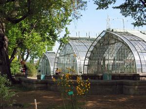 Le jardin des Serres d'Auteuil.