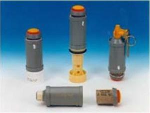 Grenade lacrymogène instantanée GLI F4.