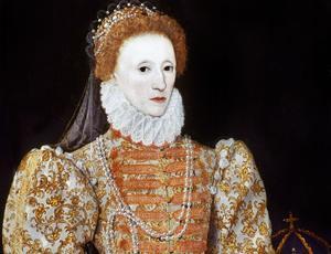 La reine d'Angleterre et d'Irlande Elizabeth Tudor (1533-1603).