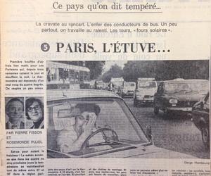 5e volet de la série «Ce pays qu'on dit tempéré», le 9 juillet 1976.