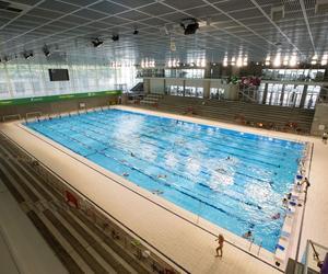 Le bassin de 50m de la piscine Antigone