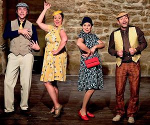 Le quartet au Théâtre Essaïon, jusqu'au 28 mai.