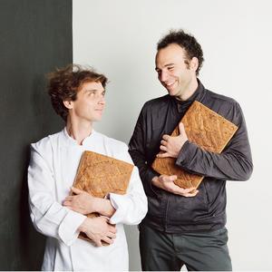 Nathaniel Doboin (à gauche) et Thomas Teffri-Chambelland chez Chambelland (XIe).