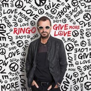 La pochette de «Give Me More Love», le prochain album de Ringo Starr.