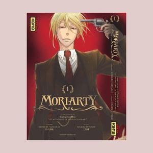 <i>Moriarty</i>, une approche très original dans ce manga pour adulte permettra d'attirer bon nombre de lecteurs fans de l'univers de Sir Arthur Conan Doyle.