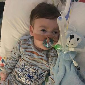 Alfie Evans, hospitalisé depuis l'âge de six mois.