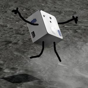 L'atterrisseur MASCOT n'a ni bras ni jambe: c'est un simple «boîte» qui sera lancée à la surface.