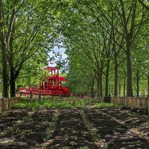 Le jardin nourricier à la Villette.
