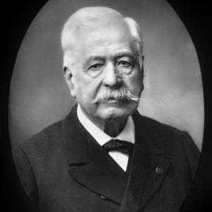 Le vicomte Ferdinand Marie de Lesseps (1805-1894) diplomate français qui fit percer le canal de Suez. (photo Nadar).