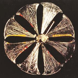 Vue du miroir dépliable Znamya 2 en 1993.