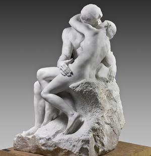 <i>Le Baiser</i>, Rodin (1889).
