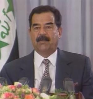 Saddam Hussein, renversé en 2003.