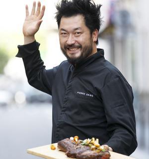 Pierre Sang et sa côte de bœuf.