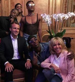 Qu'après Kiddy Smile et ses danseurs, Emmanuel Macron invite Michou et ses danseuses à l'Élysée pour les Journées du patrimoine.