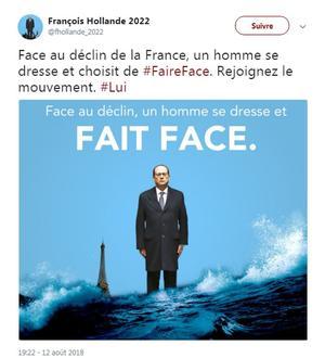 Sur Twitter, plusieurs fausses affiches de campagne.
