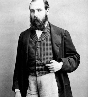 L'écrivain Hector Malot (1830-1907): ses romans sont toujours très documentés.