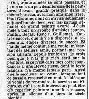 La Une du Figaro du 2 mai 1896.