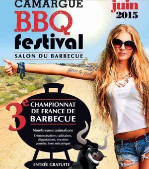 Affiche de la troisième édition du championnat de France du barbecue