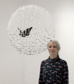 L'artiste irlandaise, Claire Morgan ©Claire Morgan studio.