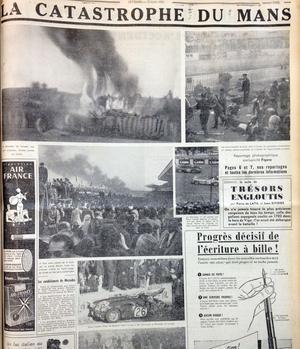 Le reportage photo paru dans Le Figaro le 13 juin 1955.