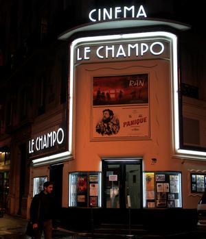 Minuit, l'heure de la dernière séance au Champo (Ve), unsamedi par mois.