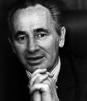 L'homme politique israélien Shimon Peres, ici vers 1993.