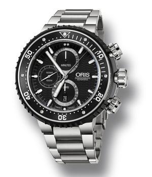 Un bon rapport qualité-prix pour ce chronographe d'Oris.