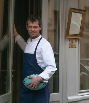 Thierry Dufroux, chef et propriétaire du Belhara.