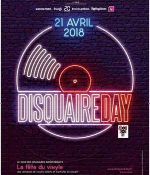 L'affiche du Disquaire Day 2018.
