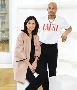 Sophie Delafontaine, directrice artistique de Longchamp, a confié à Shayne Oliver la création d'une collection, en vente vendredi.