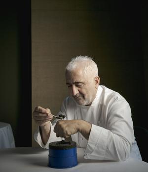 Le chef Guy Savoy, à la Monnaie de Paris, apprécie son «grain croquant et ses arômes».