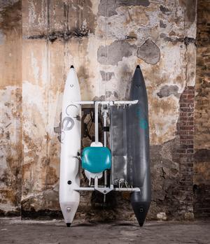 Le voilier électrique pliable de Ceclo Sport.