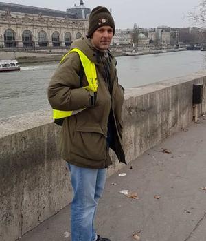 Cet autoentrepreneur des Yvelines affirme que la mobilisation ne faiblit pas.