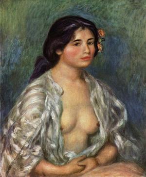 Le tableau de Renoir, «Gabrielle avec la chemise ouverte», ne sera pas présenté lors de l'exposition de 2019.