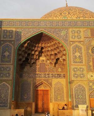 Mosquée à Ispahan. (DR)