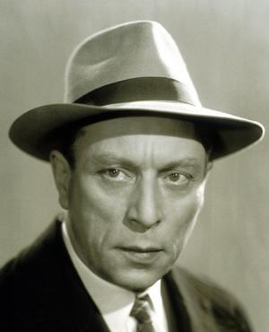 L'acteur et metteur en scène Louis Jouvet vers 1938.