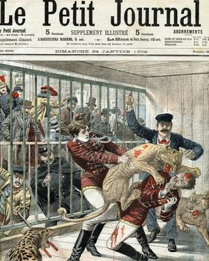 Drame sanglant dans la ménagerie de la Goulue en 1904.