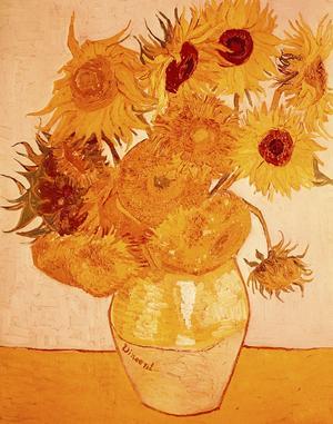 «Tournesols» de Van Gogh 1888.