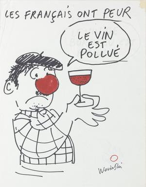 «Les Français ont peur» sigén Wolinski dans les années 1980.