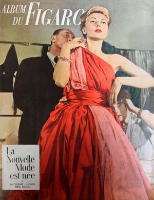 Couverture de «L'Album du Figaro» automne 1949.