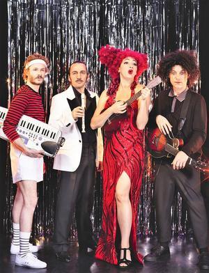 Jeanne Plante et ses drôles de musiciens.